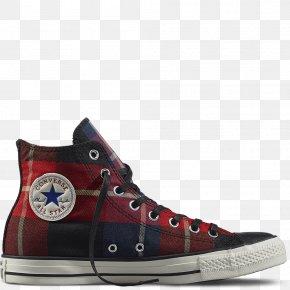 Plaid Keds Shoes For Women - Sports Shoes Chuck Taylor All-Stars Converse Chuck Taylor LUX Mid 550671C Dahlia/Black/Egret Hidden Platform Wedge W PNG
