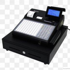 Cash Register - Cash Register Paper Point Of Sale Thermal Printing Printer PNG
