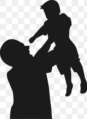 Father's Day Vector Silhouettes - Fathers Day PNG