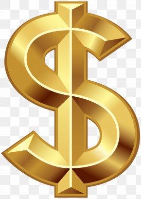Dollar Sign Clip Art - Dollar Sign United States Dollar Symbol PNG