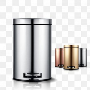 Jimmy Barrel Barrels Creative Luxury Home Stainless Steel Trash Can - Waste Container Stainless Steel Barrel PNG