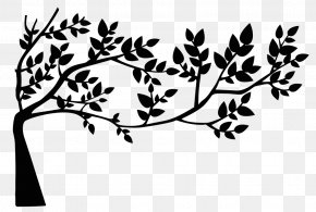 Love Tree - Leaf Silhouette Drawing Clip Art PNG