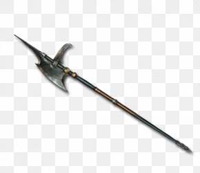 Halberd - Ranged Weapon Pickaxe Tool PNG