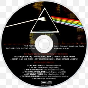Immersion Box Set Pink Floyd Album Compact DiscPinkfloyd - The Dark Side Of The Moon PNG