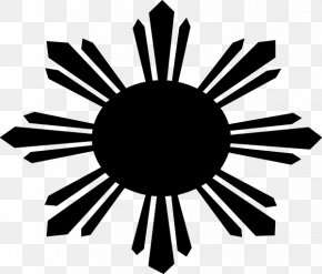 Philippine Flag3 Stars And Sun Logo - Flag Of The Philippines T-shirt Philippines Independence Day PNG