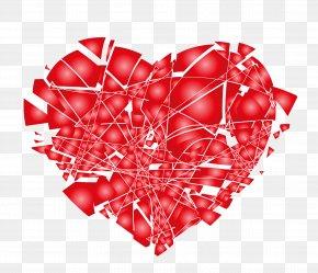 Broken Hearts Broken Explosion - Broken Heart Love Clip Art PNG