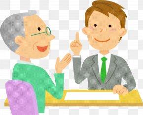 Fun Job - Cartoon Sharing Conversation Finger Gesture PNG
