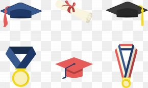 Graduated Bachelor Cap Master Cap Icon - Graduation Ceremony Square Academic Cap Bachelors Degree Clip Art PNG