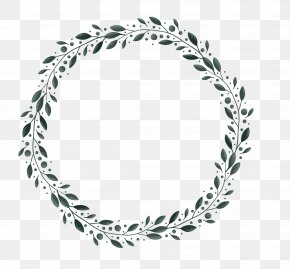 Leaves Border - Border Christmas Pattern PNG