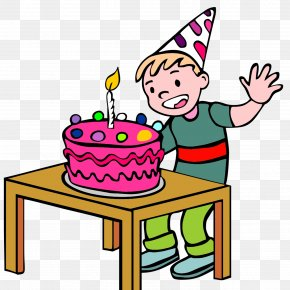 Birthday Present - Cuisine Cartoon Meal Line Clip Art PNG