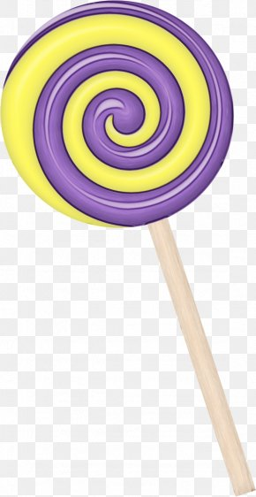 Spiral Confectionery - Christmas Stick PNG