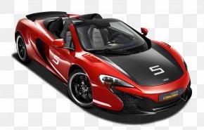 Red McLaren 650S Can Am Race Car - 2015 McLaren 650S McLaren Automotive Can-Am Car PNG