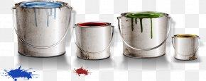 Paint Bucket - Paint Bucket Barrel PNG