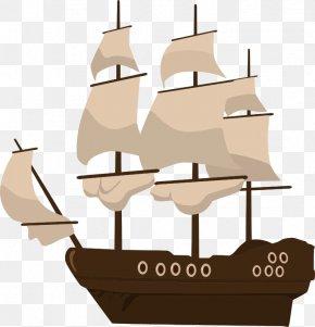 Pirate Ship - Ship Piracy Clip Art PNG