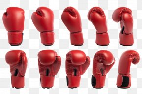 Red Boxing Glove - Boxing Glove Stock Photography Shutterstock PNG