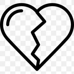 Broken Icon - Broken Heart Love Romance Clip Art PNG