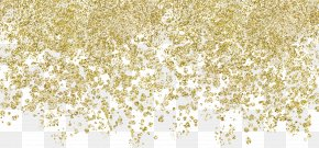 Powder,Gold Particles - Gold Chemical Element Birthday Gift Paper PNG