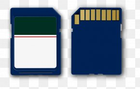 Vector Card - Secure Digital Flash Memory Cards Data Recovery MicroSD Computer Data Storage PNG