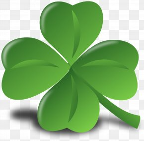 4 Leaf Clover - Ireland St. Patrick's Cathedral Saint Patrick's Day March 17 Parade PNG