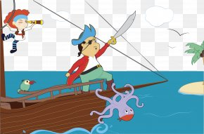 Vector Pirate - Piracy Clip Art PNG
