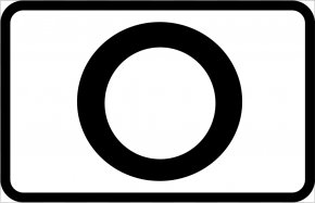 Black And White Road Signs - Traffic Sign Drawing Road Black And White Clip Art PNG