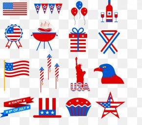 Creative Elements Of The United States - United States Photography Illustration PNG