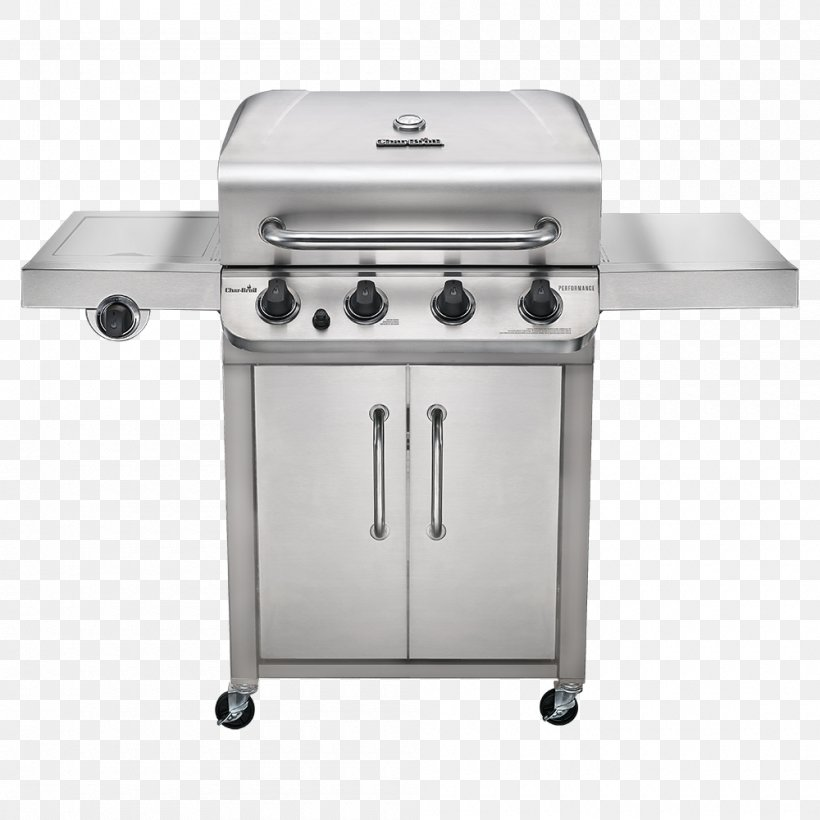 Barbecue Char-Broil Performance 4 Burner Gas Grill Grilling Char-Broil Performance Series 463377017 Gas Burner, PNG, 1000x1000px, Barbecue, Charbroil, Charbroil Performance 463275517, Charbroil Performance 463376017, Cooking Download Free