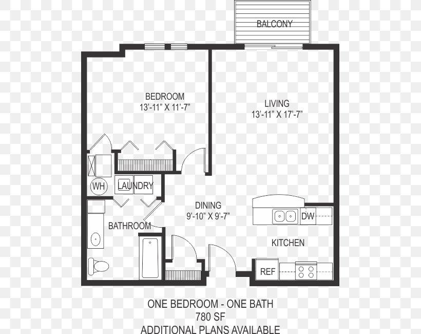 Floor Plan College Square Apartment