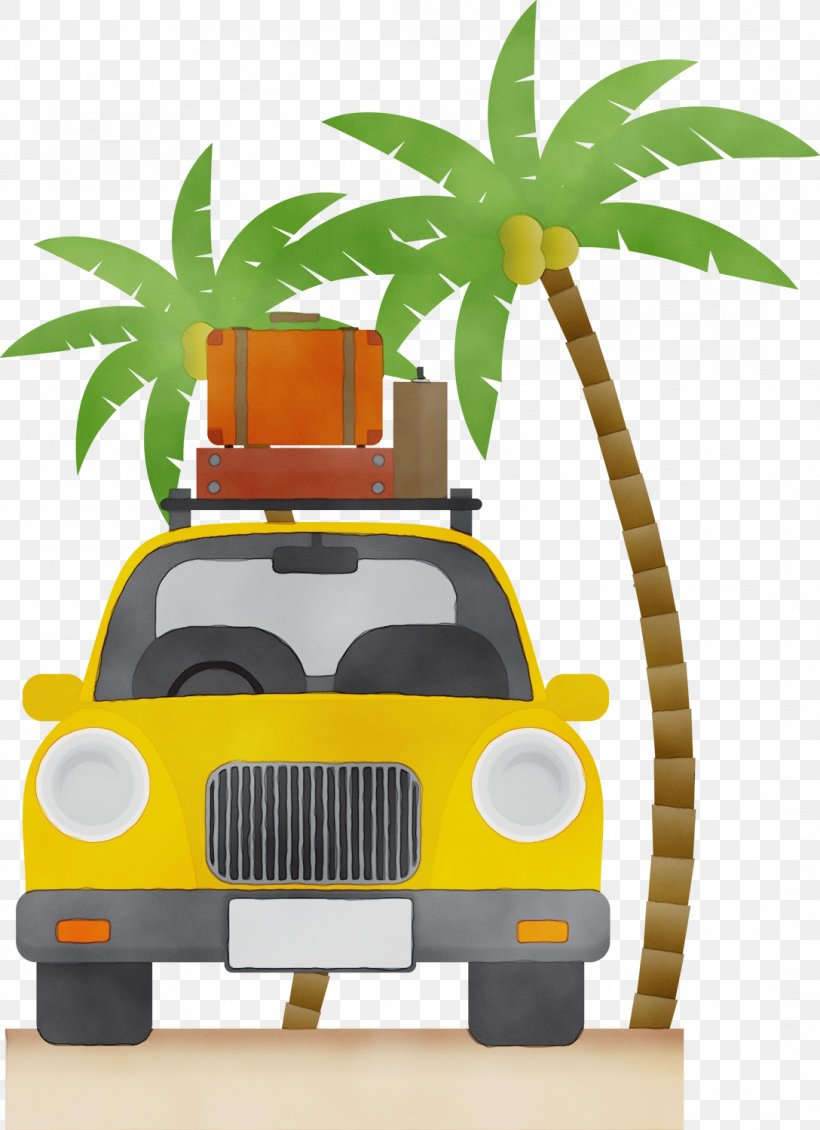 Palm Tree Background, PNG, 1088x1500px, Watercolor, Arecales, Car, Cartoon, Compact Car Download Free