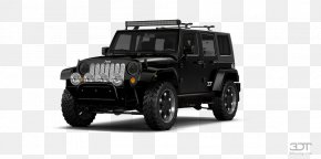 Jeep Wrangler Unlimited - Tire Jeep Wrangler Car Jeep Liberty PNG