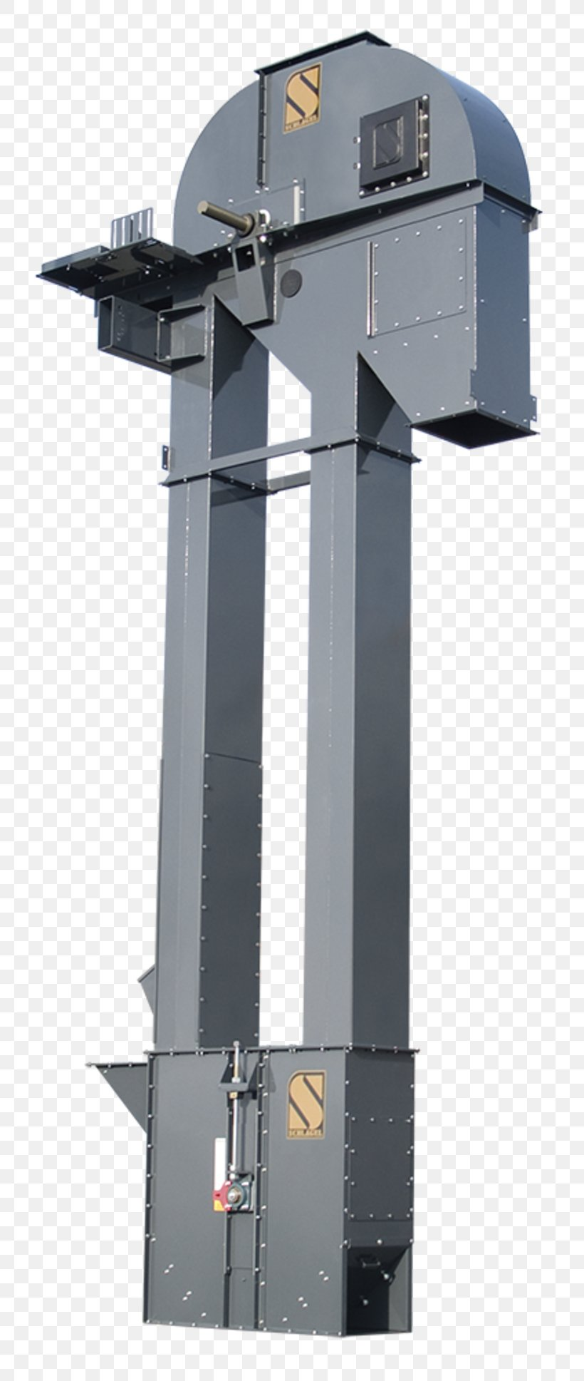 Bucket Elevator Manufacturing Conveyor System, PNG, 800x1937px, Bucket Elevator, Bucket, Conveyor Belt, Conveyor System, Electric Motor Download Free