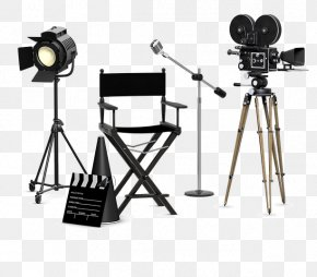 Movie Director - Photographic Film Television Film Stock Photography Cinema PNG