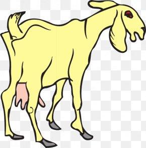Random Cliparts - Goat Sheep Thepix Clip Art PNG
