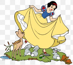 Snow White And The Seven Dwarfs Image - Snow White Queen Seven Dwarfs Dopey Clip Art PNG
