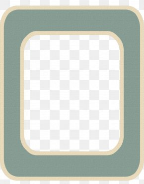 Teal Frame - Teal Turquoise Rectangle PNG