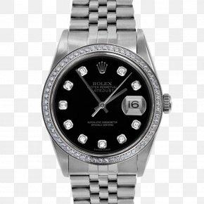 Rolex - Rolex Datejust Watch Rolex Oyster Diamond PNG