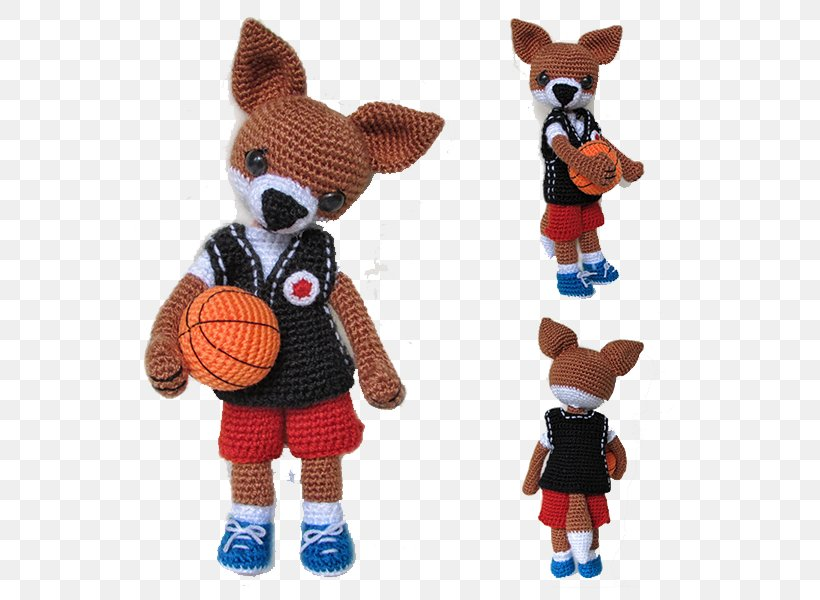 Dog Basketball Player Knitting, PNG, 600x600px, Dog, Amigurumi, Basketball, Basketball Player, Carnivoran Download Free