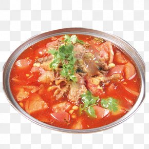 Boiled Beef Model - Hot And Sour Soup Pot Roast Simmering Brisket Tomato PNG