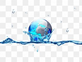 Earth - Earth Water Drop PNG
