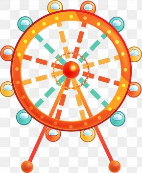 Cartoon Ferris Wheel - Ferris Wheel Clip Art PNG