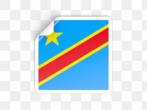 Flag Of The Democratic Republic Of The Congo - Royalty-free National Flag Democracy Democratic Republic PNG