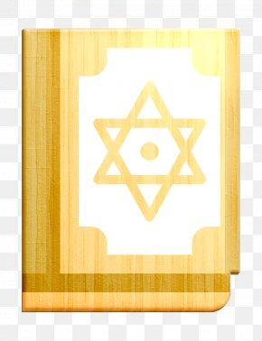Yellow Religion Icon - Bible Icon Book Icon Christian Icon PNG
