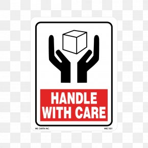 Handle With Care - Label Paper Sticker Logo Brand PNG