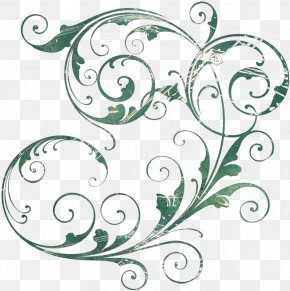 Alphabet Flower Elements - Wedding Invitation Clip Art PNG