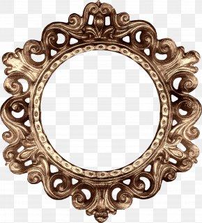 Retro Round Frame - Picture Frame Decorative Arts Clip Art PNG