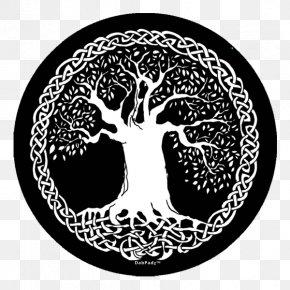 Life - Tree Of Life Celts Celtic Knot Celtic Sacred Trees PNG