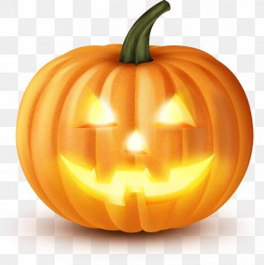 Halloween - Halloween Pumpkin Jack-o'-lantern Clip Art PNG
