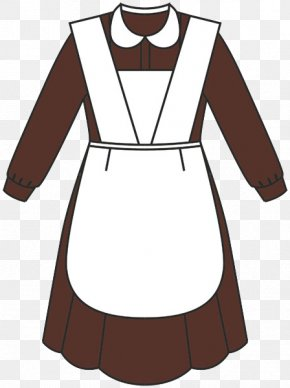 School - School Uniform Apron Dress PNG