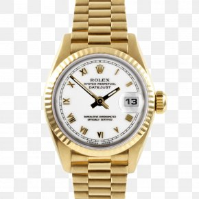 Rolex Watch File - Rolex Datejust Rolex Submariner Watch Colored Gold PNG