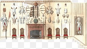 Vector Weapon - Furniture With Candelabra And Interior Decoration Interior Design Services Weapon Clip Art PNG